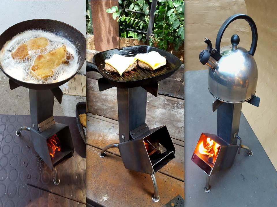 Funciones stov errege hierros for Planos para fabricar una cocina cohete